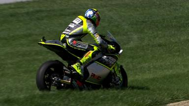 Indianapolis 2012 - Moto2 - FP3 - Action - Andrea Iannone