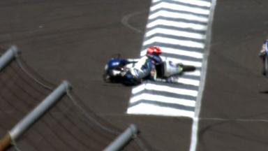 Indianapolis 2012 - Moto3 - QP - Action - Alex Marquez - Crash