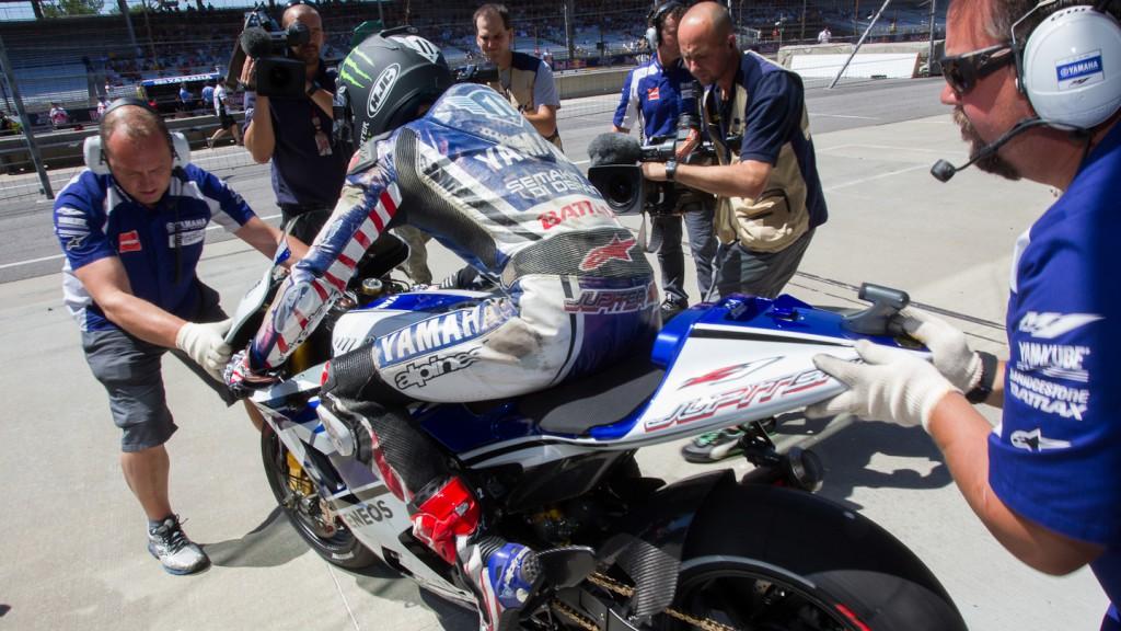 Ben Spies, Yamaha Factory Racing, Indianapolis QP