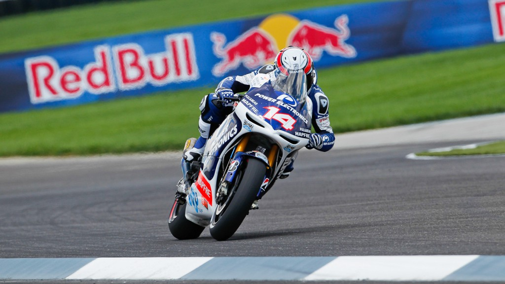 Randy de Puniet, Power Electronics Aspar, Indianapolis QP