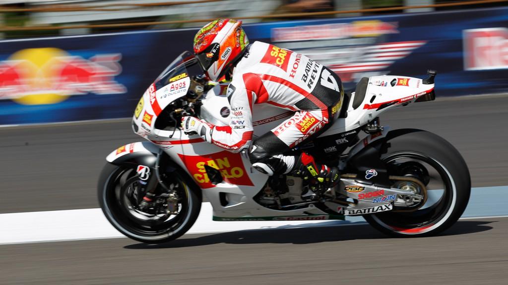 Alvaro Bautista, San Carlo Honda Gresini, Indianapolis FP3