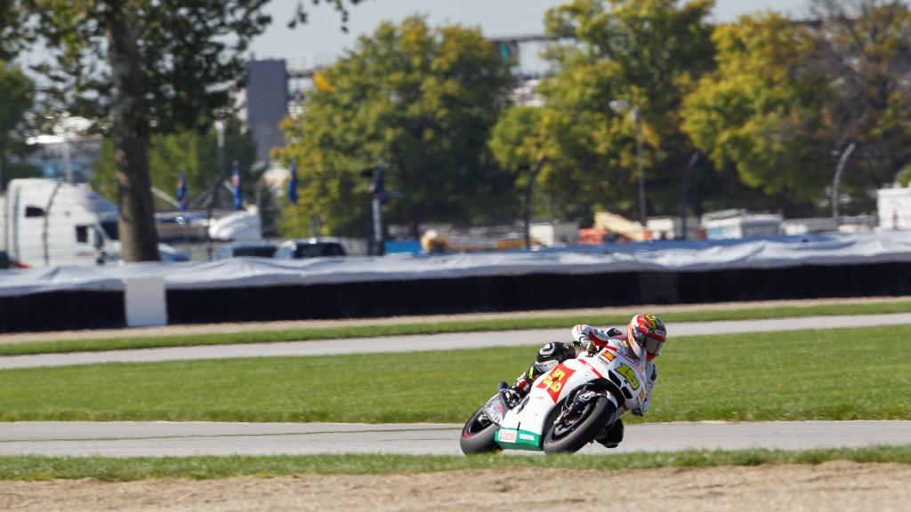 Alvaro Bautista, San Carlo Honda Gresini, Indianapolis QP