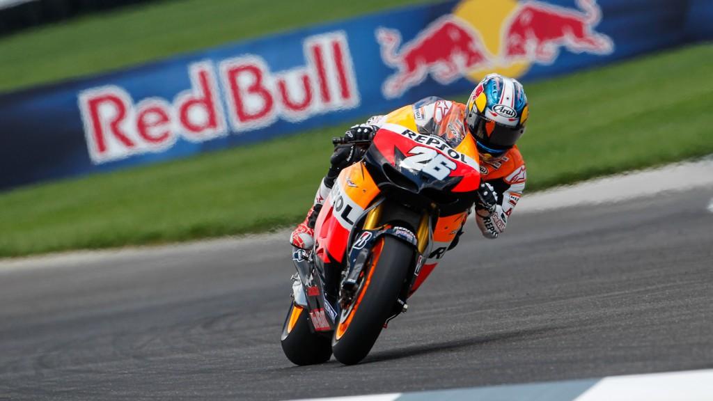 Dani Pedrosa, Repsol Honda Team, Indianapolis QP