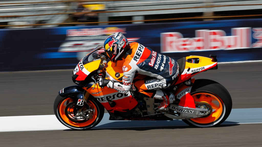 Dani Pedrosa, Repsol Honda Team, Indianapolis FP3