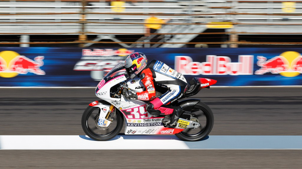 Luis Salom, RW Racing GP, Indianapolis