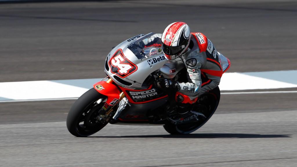 Mattia Pasini, Speed Master, Indianapolis QP