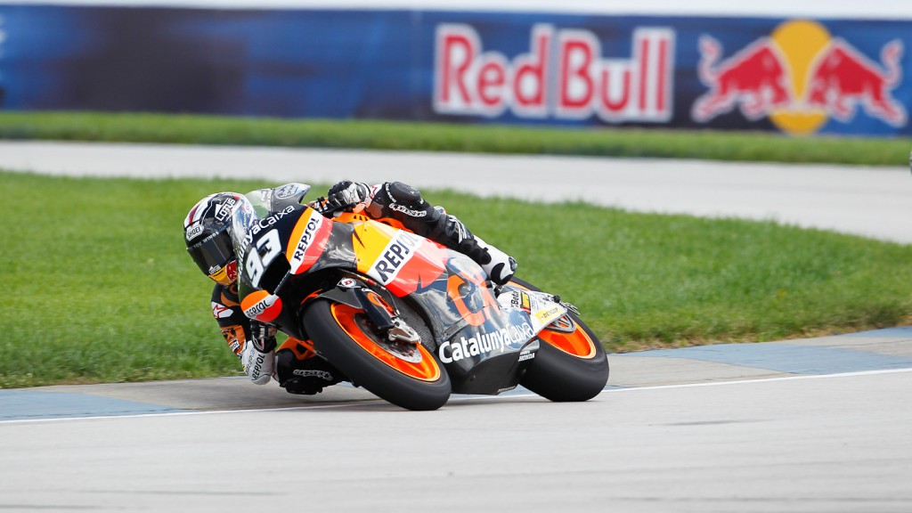 Marc Marquez, Team CatalunyaCaixa Repsol, Indianapolis QP
