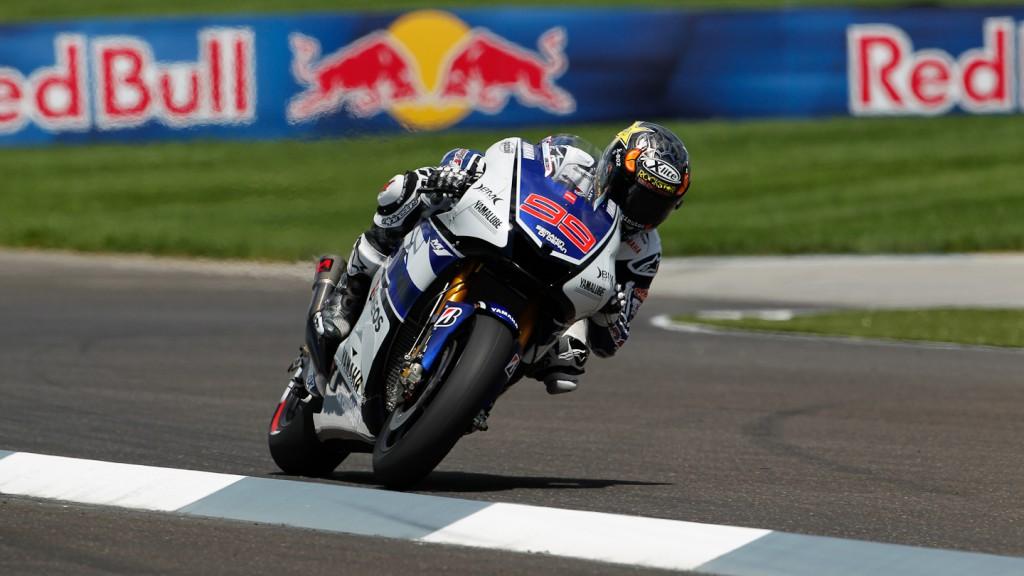 Jorge Lorenzo, Yamaha Factory Racing, Indianapolis QP