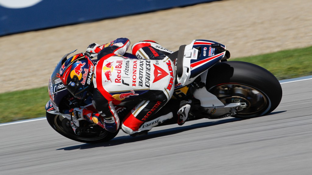 Stefan Bradl, LCR Honda MotoGP, Indianapolis RAC