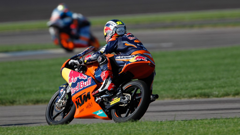 Sandro Cortese, Red Bull KTM Ajo, Indianapolis WUP