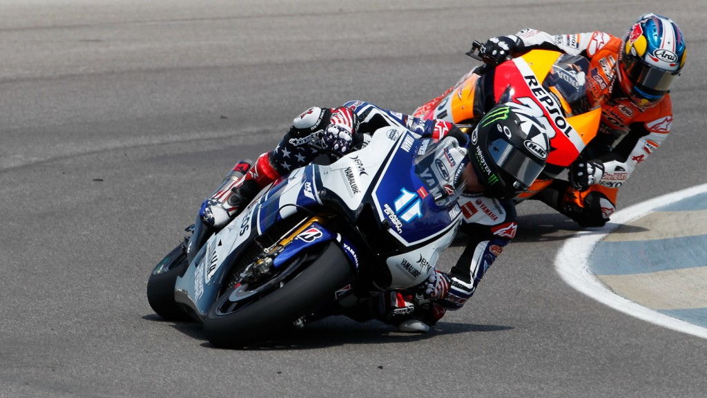 Ben Spies, Yamaha Factory Racing, Indianapolis RAC