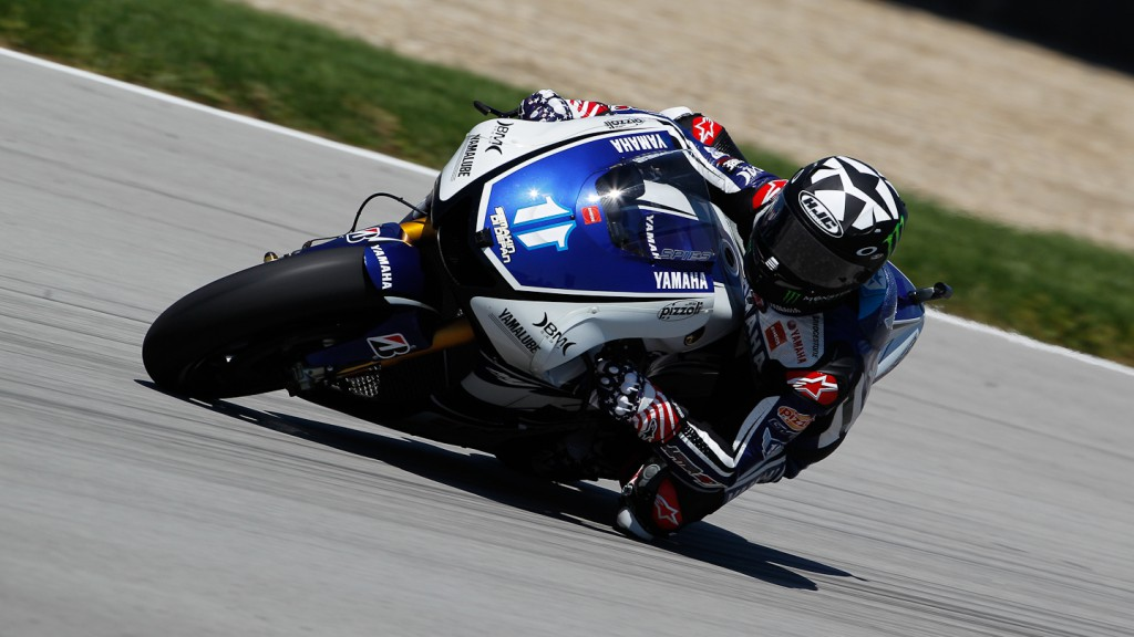 Ben Spies, Yamaha Factory Racing, Indianapolis WUP