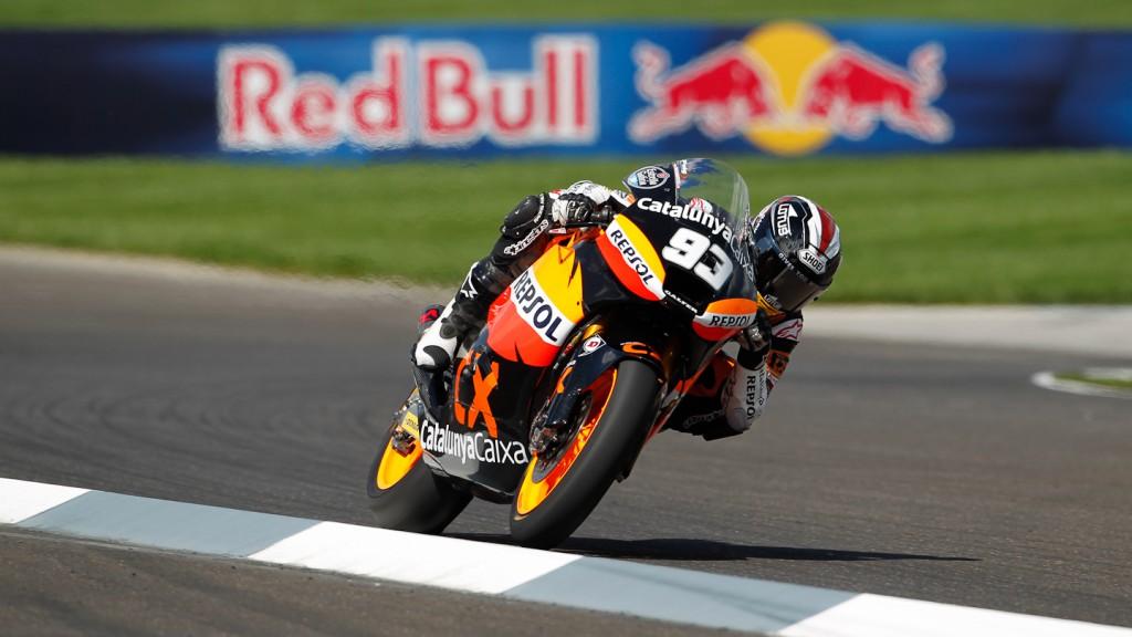 Marc Marquez Team CatalunyaCaixa Repsol, Indianapolis RAC