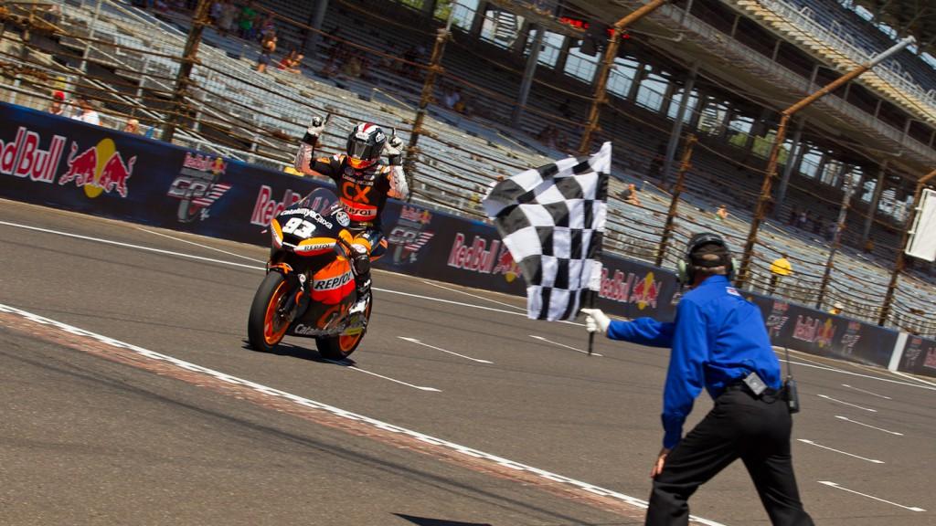 Marc Marquez, Team CatalunyaCaixa Repsol, Indianapolis RAC