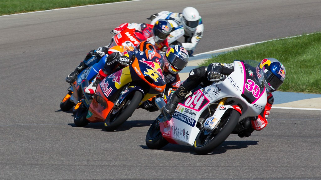 Luis Salom, RW Racing GP, Indianapolis RAC