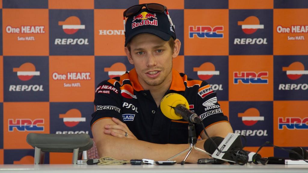 Casey Stoner, Repsol Honda Team Press Conference, Brno