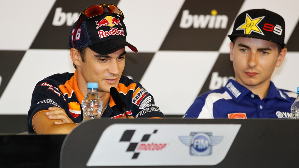 Dani Pedrosa, Repsol Honda Team, bwin Grand Prix Ceske Republiky Press Conference