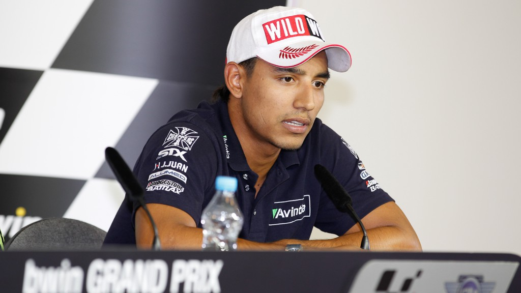 Yonny Hernandez, Avintia Blusens, bwin Grand Prix Ceske Republiky Press Conference