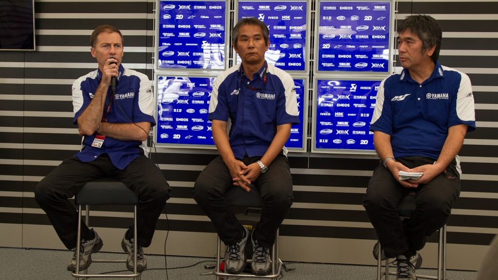 Yamaha Factory Racing Press Conference, Brno