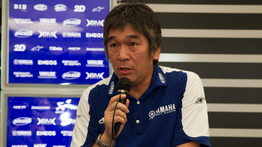 Kouichi Tsuji, YZR-M1 Project Leader, Yamaha Factory Racing