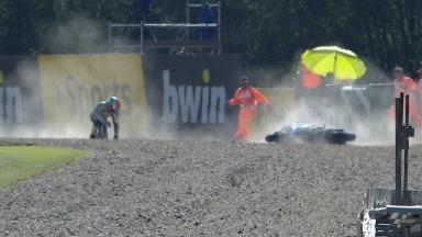 Brno 2012 - MotoGP - FP1 - Action - Danilo Petrucci - Crash