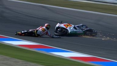 Brno 2012 - MotoGP - FP2 - Action - Alvaro Bautista - Crash