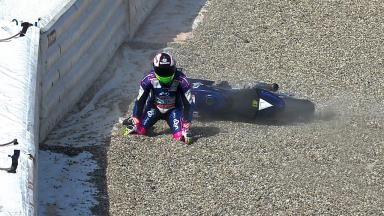 Brno 2012 - MotoGP - FP2 - Action - Aleix Espargaro - Crash