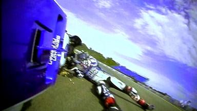 Brno 2012 - MotoGP - FP2 - Action - Ben Spies - Crash