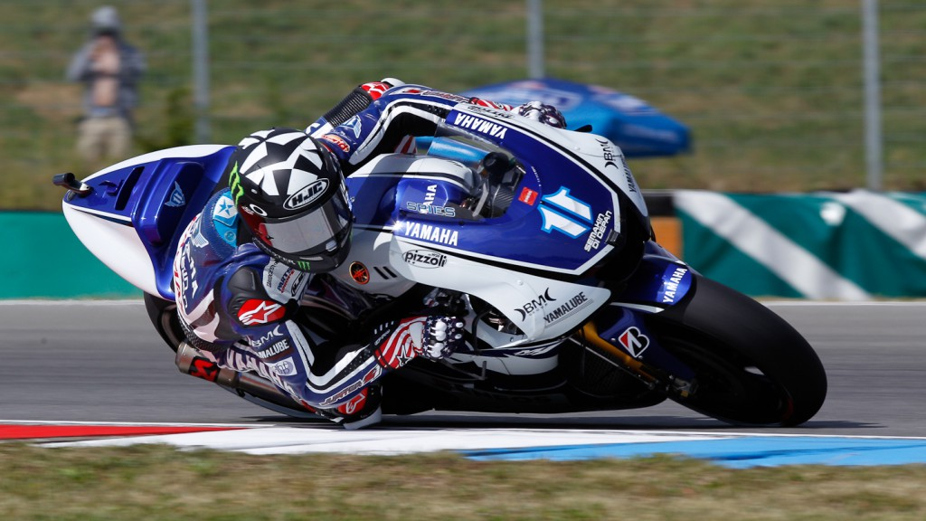 Ben Spies, Yamaha Factory Racing, Brno FP2