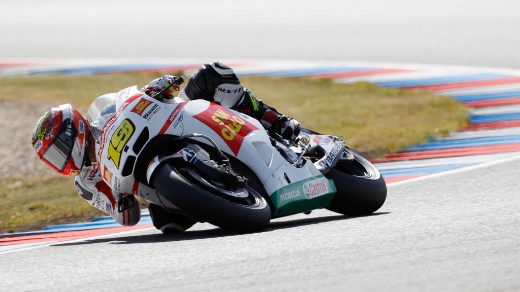 Alvaro Bautsita, San Carlo Honda Gresini, Brno FP2