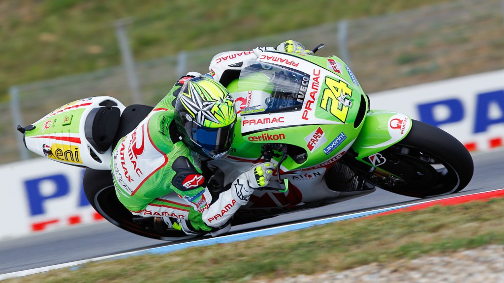 Toni Elias, Pramac Racing Team, Brno FP2