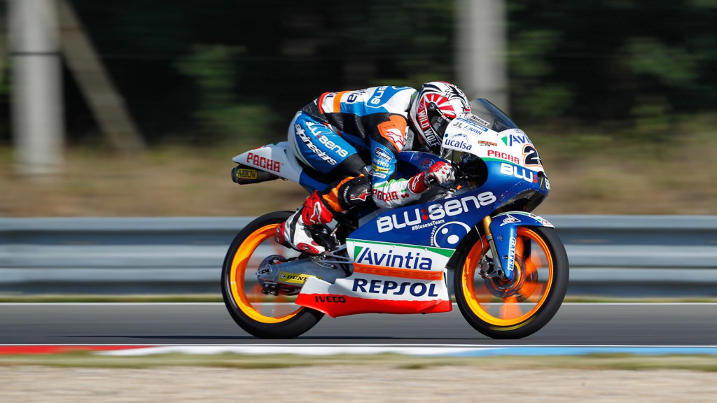 Maverick Viñales, Blusens Avintia, Brno FP1