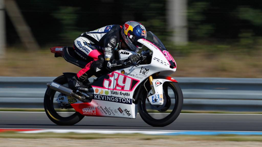 Alvaro Bautista, San Carlo Honda Gresini, Brno FP2