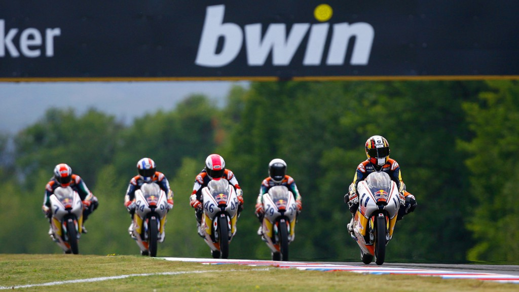 Red Bull Motog GP Rookies Cup, Brno