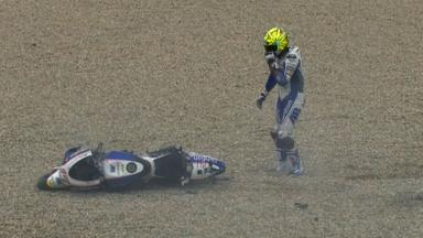Brno 2012 - MotoGP - QP - Action - Karel Abraham - Crash