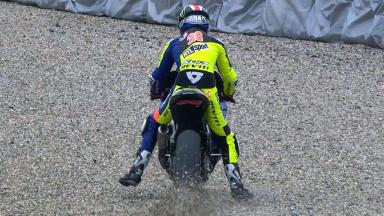 Brno 2012 - Moto2 - FP3 - Action - Bradley Smith - Crash