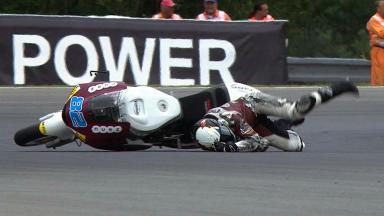 Brno 2012 - Moto2 - QP - Action - Elena Rosell - Crash