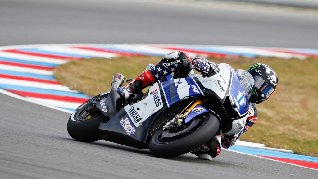 Ben Spies, Yamaha Factory Racing, Brno QP