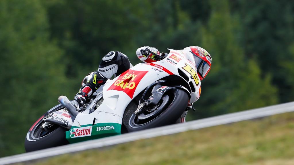 Alvaro Bautista, San Carlo Honda Gresini, Brno QP