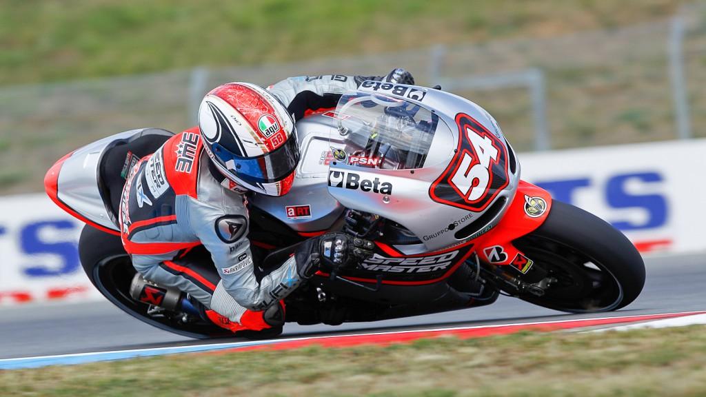 Mattia Pasini, Speed Master, Brno QP