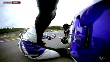 Brno 2012 - MotoGP - Race - Action - Ben Spies - Crash