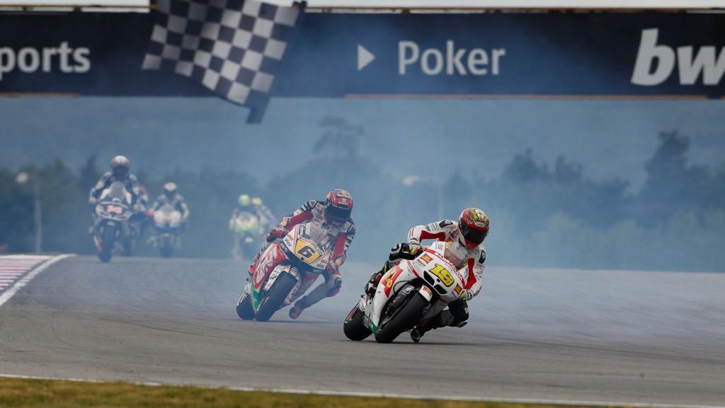 Alvaro Bautista, Stefan Bradl, San Carlo Honda Gresini, LCR Honda MotoGP