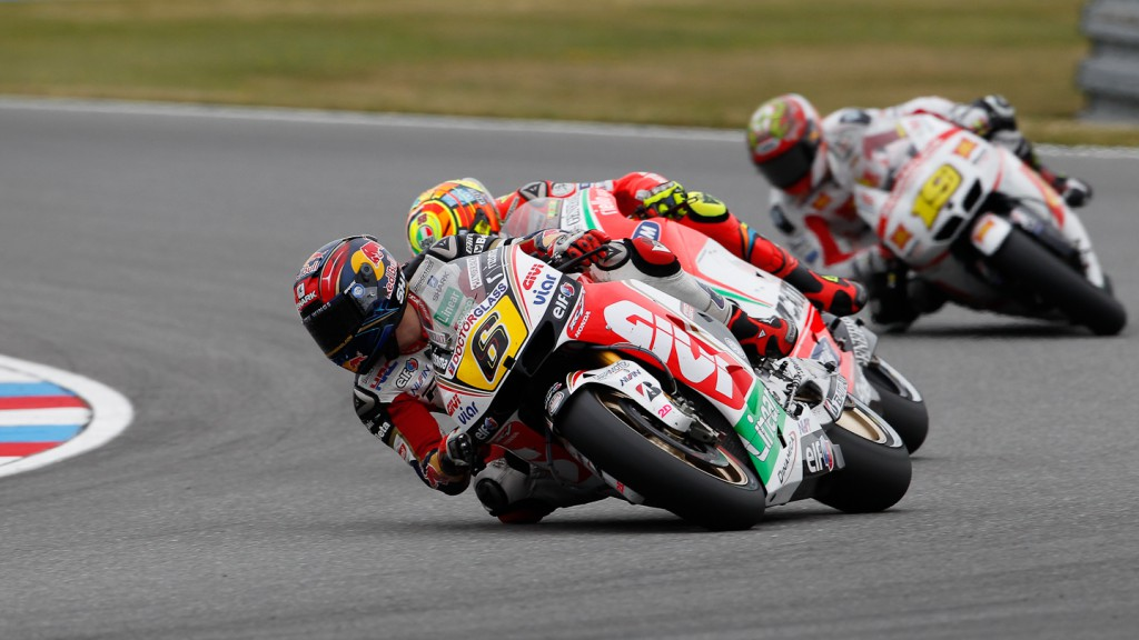 Stefan Bradl, Valentino Rossi, LCR Honda MotoGP, Ducati Team, Brno RAC