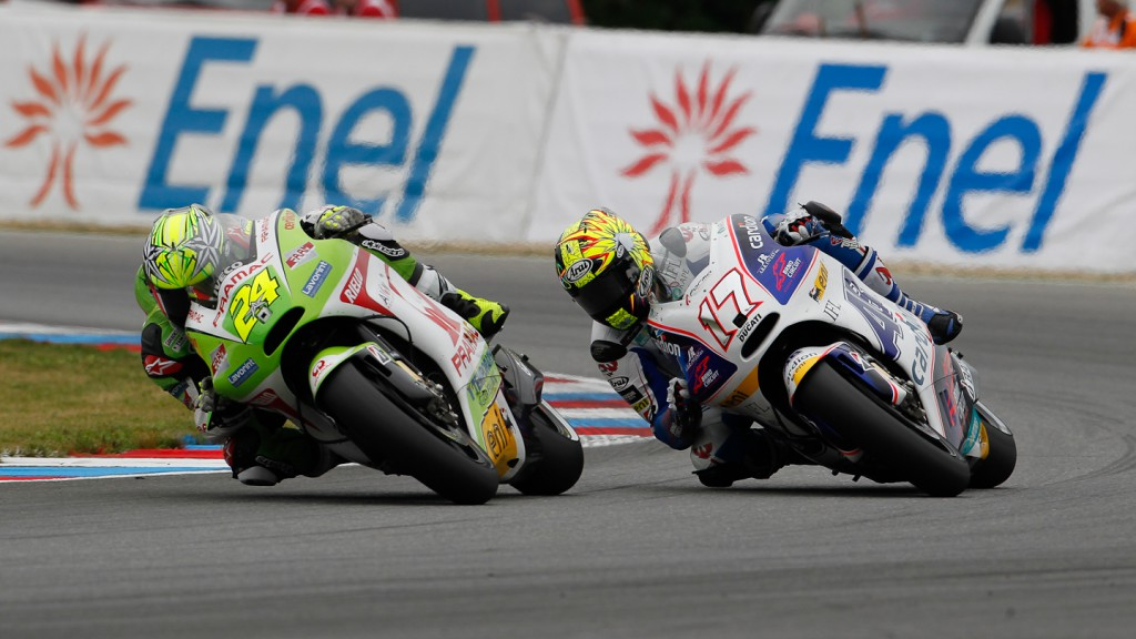 Toni Elias, Karel Abraham, Pramac Racing Team, Cardion AB Motoracing, Brno RAC