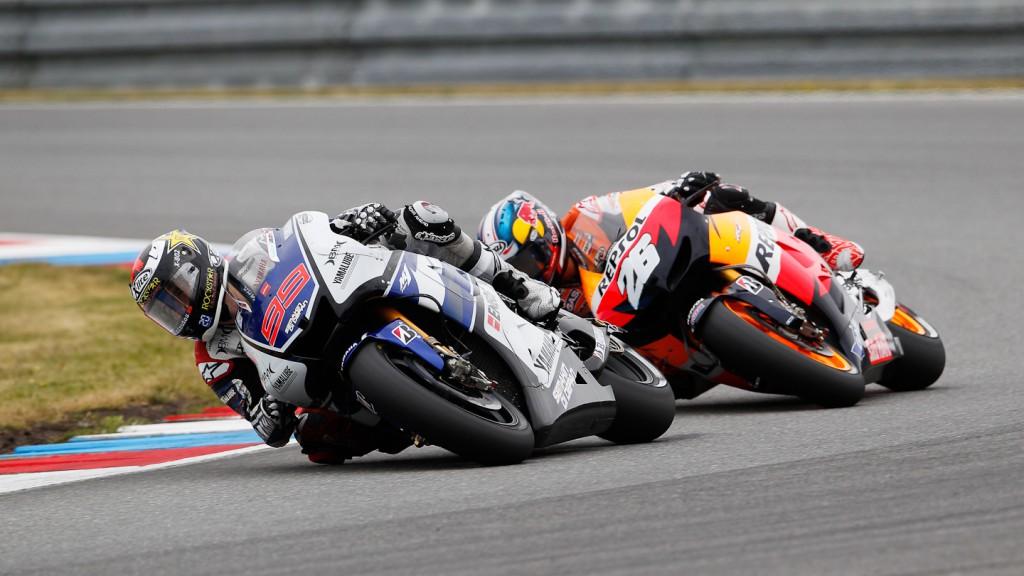 Jorge Lorenzo, Dani Pedrosa, Yamaha Factory Racing, Repsol Honda Team