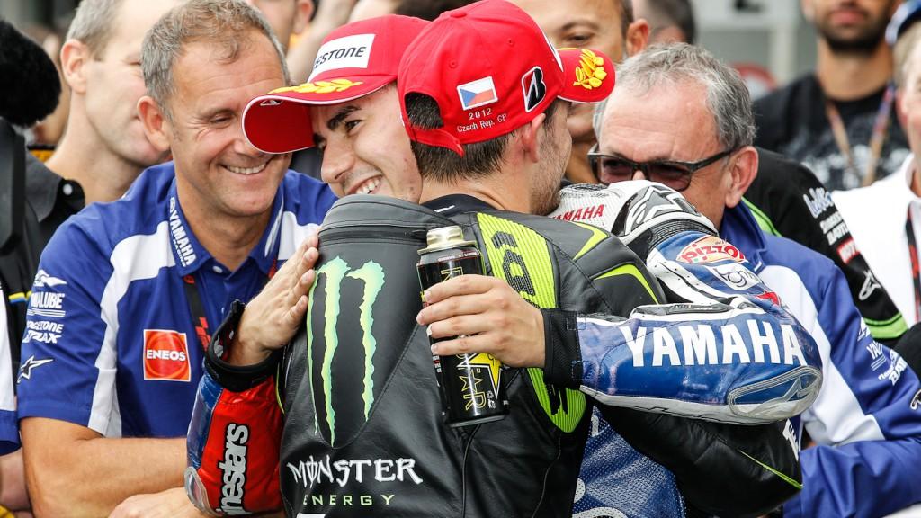 Cal Crutchlow, Jorge Lorenzo, Monster Yamaha Tech 3, Yamaha Factory Racing, Brno RAC