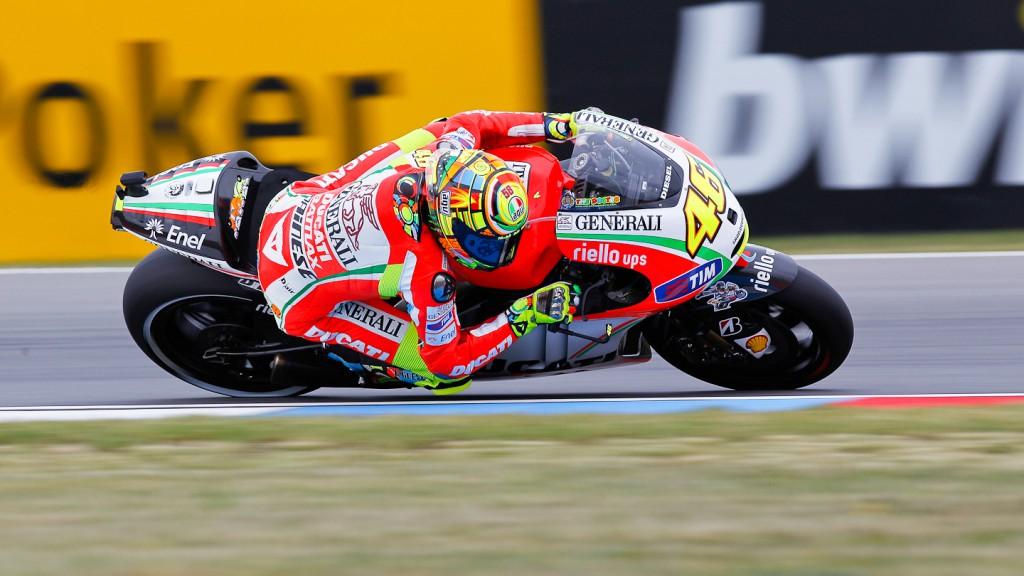 Valentino Rossi, Ducati Team, Brno RAC