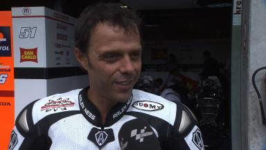 Capirossi happy with CRT progression