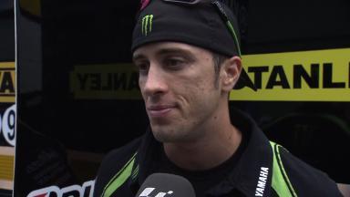 Dovizioso pleased with big change on Yamaha
