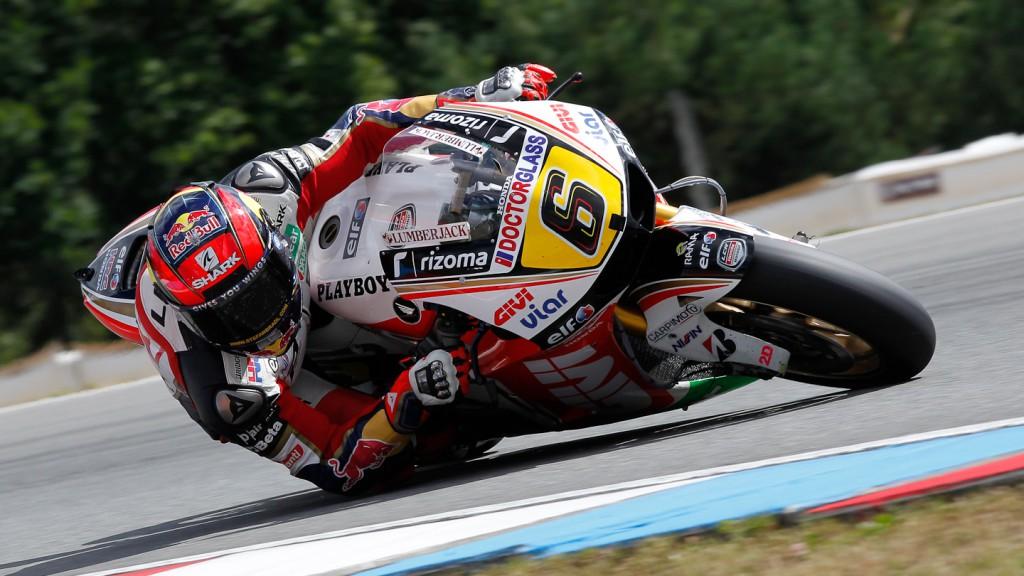 Stefan Bradl, LCR Honda MotoGP, Brno Test